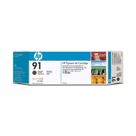 HP 91 (C9480A) Original Matte Black Ink Cartridge (3 Pack)