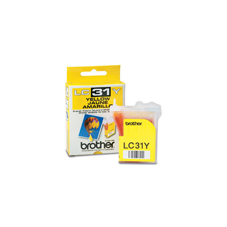 Brother LC31Y Yellow Original Print Cartridge