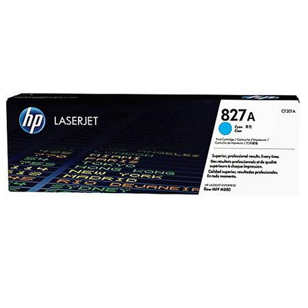 HP 827A Cyan Original Toner Cartridge (CF301A)