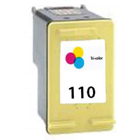 HP 110 Tri-Color Remanufactured Ink Cartridge (CB304AN)