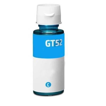 HP GT52C Cyan Remanufactured Ink Bottle
