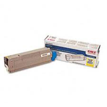 OKI 43324466 Yellow Original Toner Cartridge