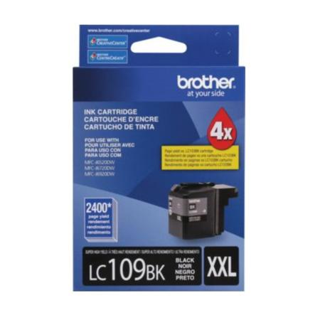 Brother LC109BK Black Original Super High Capacity Ink Cartridge