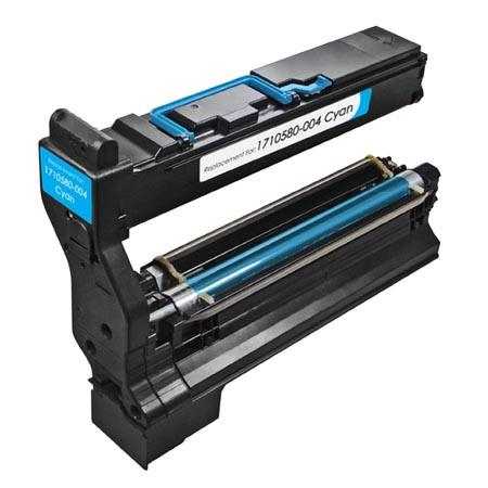 Konica-Minolta 1710580-004 Cyan Remanufactured Toner Cartridge
