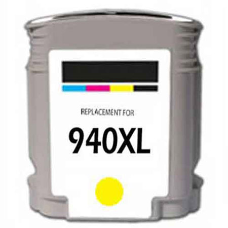 HP 940XL Remanufactured Yellow Officejet Ink Cartridge