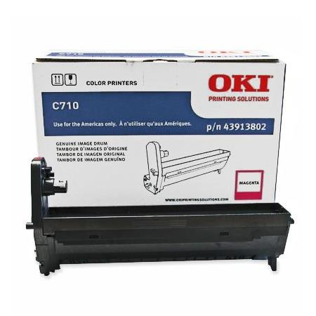 OKI 43913802 Magenta Original High Capacity Drum Unit