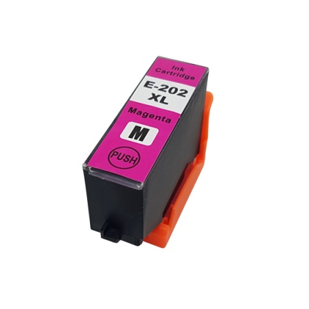 Epson 202XL (T202XL320-S) Magenta Remanufactured High Capacity Ink Cartridge