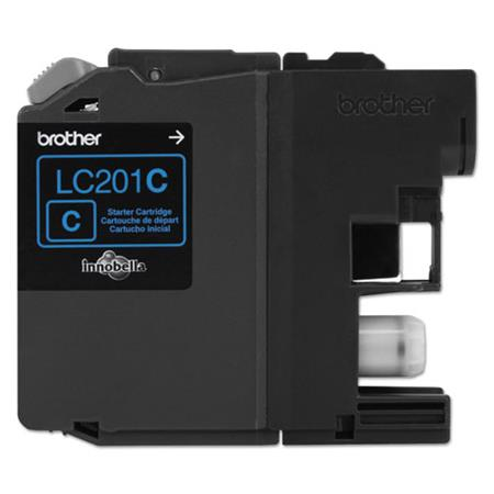 Brother LC201C Cyan Original Standard Capacity Ink Cartridges