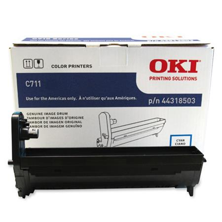 OKI 44318503 Cyan Original Standard Capacity Drum Unit