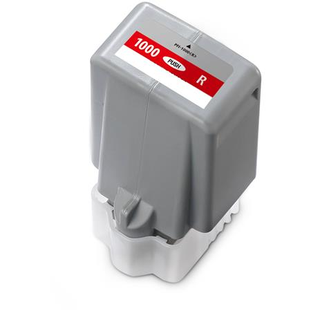Compatible Red Canon PFI-1000R Ink Cartridge (Replaces Canon 0554C001)