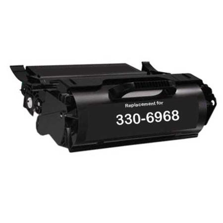 Dell  330-6968 Black Remanufactured Micr Toner Cartridge