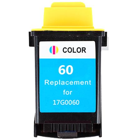 Lexmark No. 60 (17G0060) Color Remanufactured Print Cartridge