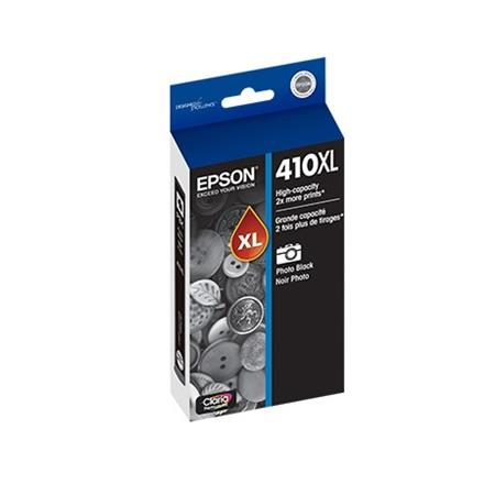 Epson 410XL (T410XL120) Photo Black  Original Claria Premium High Capacity Ink Cartridge