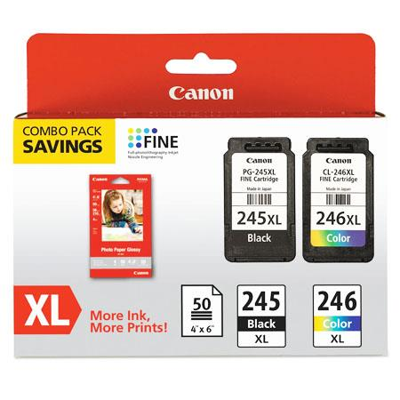 Canon PGI-245XL/CLI-246XL Black/Colour Multipack Original High Capacity Ink Cartridges (8278B005)