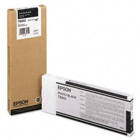 Epson T6061 Original Photo Black Ink Cartridge