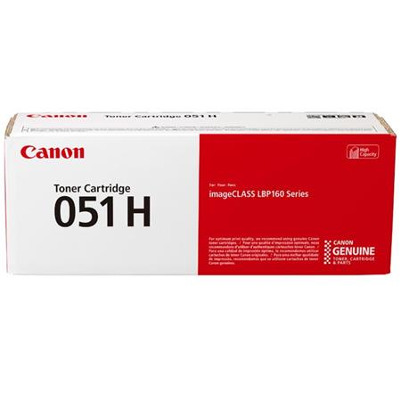 Canon 051H Black Original High Capacity Toner Cartridge (2169C001AA)