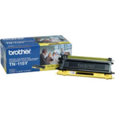 Brother TN115Y Original Yellow High Capacity Laser Toner Cartridge