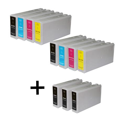Compatible Multipack Epson 786XL 2 Full Set + 3 EXTRA Black Ink Cartridges
