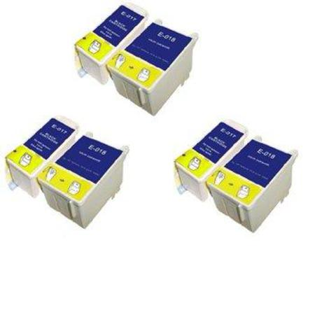 T017/T018 3 Full Sets Remanufactured Inks