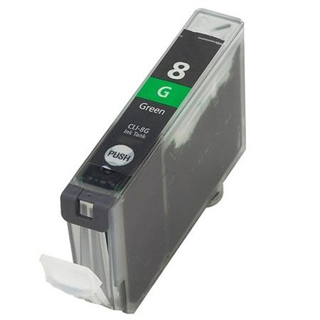 Compatible Green Canon CLI-8G Ink Cartridge (Replaces Canon 0627B002)