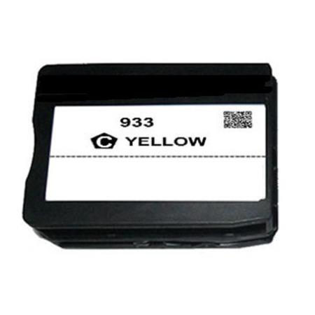 HP 933 Yellow Remanufactured Standard Capacity Ink Cartridge (CN060AN)