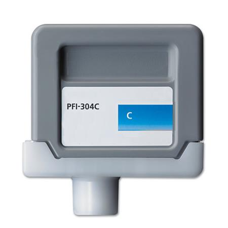 Canon PFI-304C Compatible Cyan Ink Cartridge