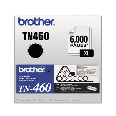 Brother TN460 Original Black High Capacity Laser Toner