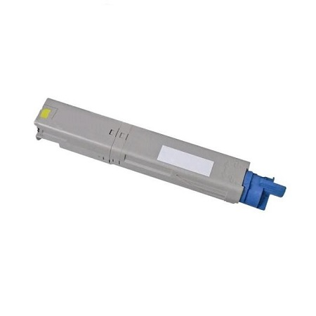 OKI 43459301 Remanufactured Yellow Toner Cartridge
