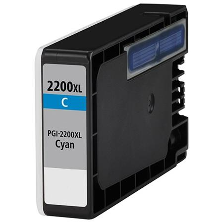 Compatible Cyan Canon PGI-2200XLC Ink Cartridge (Replaces Canon 9268B001)