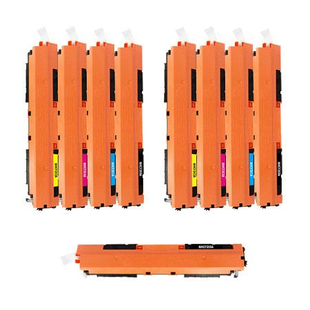 130A 2 Full Sets + 1 EXTRA Black Remanufactured Toner Cartridge