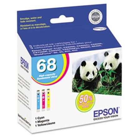 Epson T068520 Original High Capacity Color Multi-Pack-C/M/Y Cartridges
