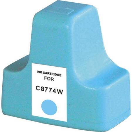 HP 02 Light Cyan Remanufactured Ink Cartridge (C8774WN)