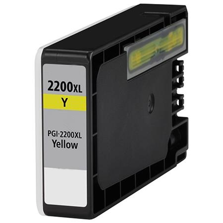 Compatible Yellow Canon PGI-2200XLY Ink Cartridge (Replaces Canon 9270B001)