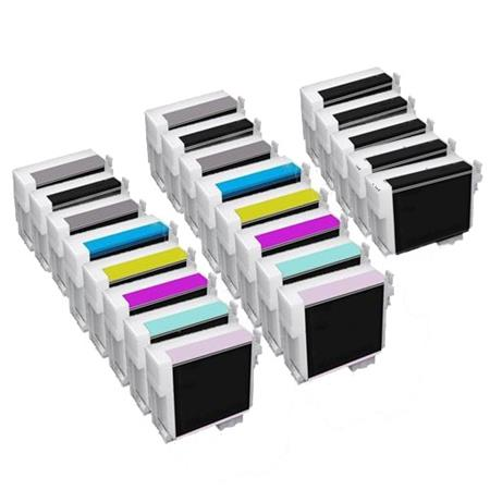 Compatible Multipack Epson T7601/T7609 2 Full Sets + 3 EXTRA Photo Black Ink Cartridges
