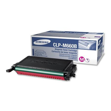 Samsung CLP-M660B Magenta High Capacity Original Toner Cartridge