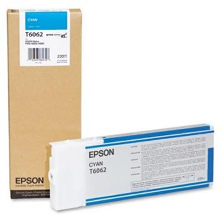 Epson T6062 Original Cyan Ink Cartridge