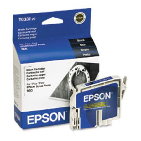 Epson T0331 (T033120) Original Black Ink Cartridge