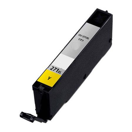 Compatible Yellow Canon CLI-271XLY Ink Cartridge (Replaces Canon 0339C001)