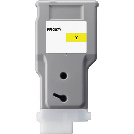 Canon PFI-207Y Yellow Compatible Ink Tank (8792B001)
