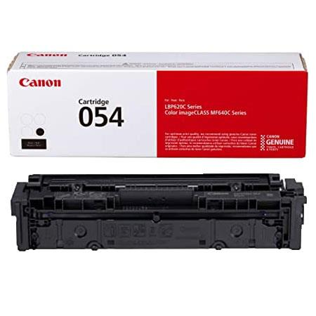 Canon 054BK (3024C001) Black Original Standard Capacity Toner Cartridge