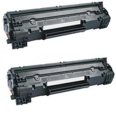 Compatible Twin Pack HP CE278A Black Toner Cartridges