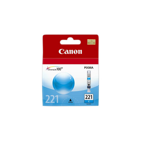 Canon CLI-221C Cyan Original Cartridge