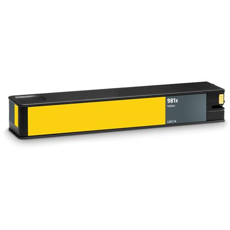 HP 981X (L0R11A) Yellow Remanufactured High Capacity Ink Cartridge