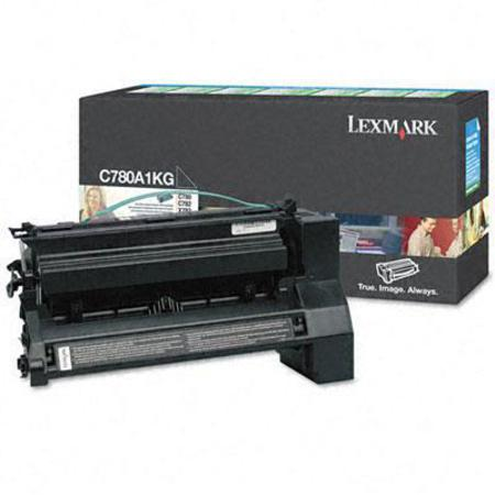 Lexmark C780A1KG Black Original Return Program  Laser Toner Cartridge