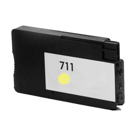 HP 711 Yellow Remanufactured Ink Cartridge