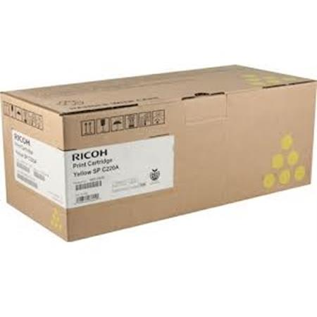 Ricoh 406044 Yellow Original Toner Cartridge