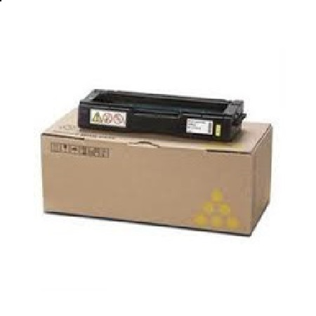 Ricoh 407656 Yellow Original Toner Cartridge