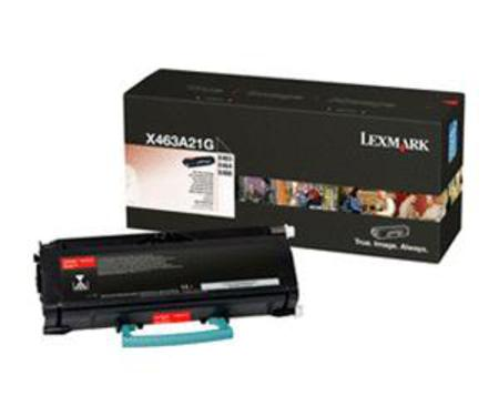 Lexmark X463A21G Black Original Toner Cartridge
