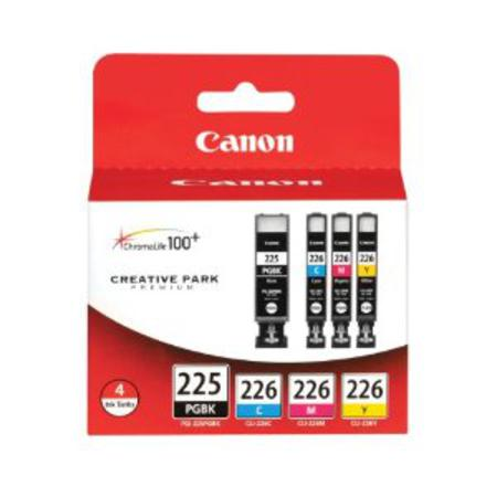 Canon PGI-225 and CLI-226 Original Black and Color Ink Cartridge