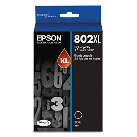 Epson T802XL Black Original High Capacity Ink Cartridge